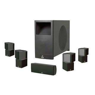 PyleHome PHS51P 5.1 Speaker System - 200 W RMS - Piano Black