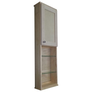 48-inch Shaker Series On the Wall Cabinet/ 24-inch Open Shelf