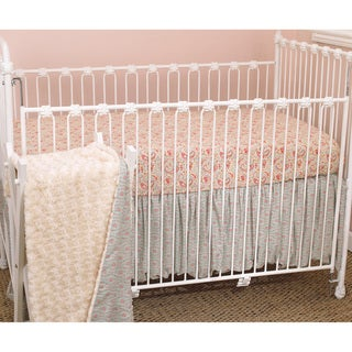 Cotton Tale Tea Party 3-piece Crib Bedding Set