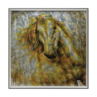 Giovanni Russo 'Equine Flight' Metal Art