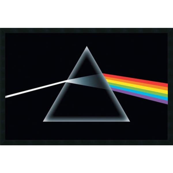 Pink Floyd - Dark Side of the Moon' Framed Art Print with Gel Coated Finish