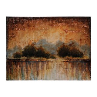 Giovanni Russo 'Scent of Rain' Hand-painted Canvas Art
