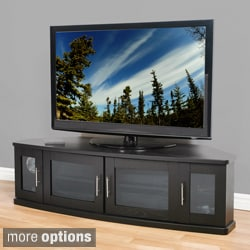 Newport Corner Wood 60-inch TV Stand