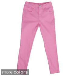 Journee Girl's Stretch Skinny Pants