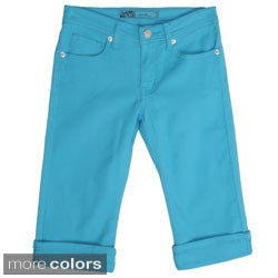 Journee Girl's Stretchy Skinny Capris