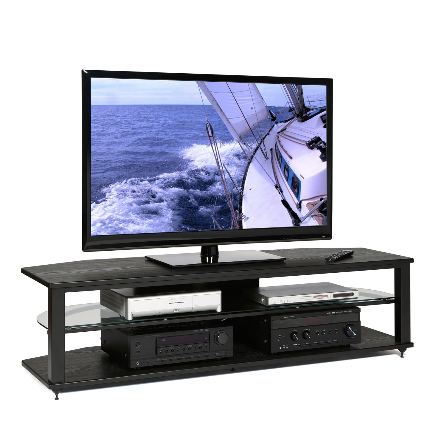 Wood 64-inch TV Stand at Sears.com