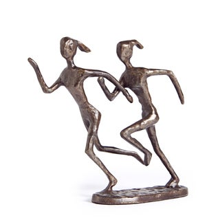 Joggers Bronze Sculpture