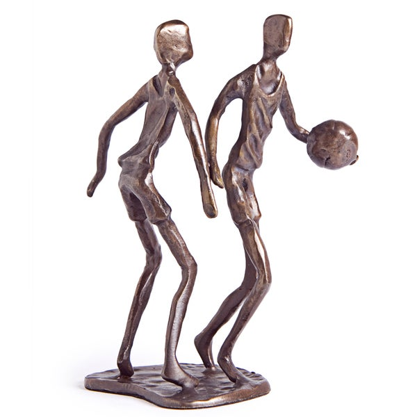 Basketball Players Bronze Sculpture