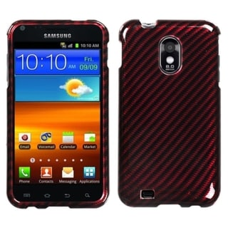 BasAcc Racing Fiber/ Red Silver Case for Samsung� Epic 4G Touch