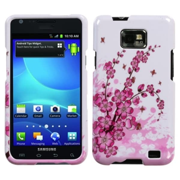 INSTEN Spring Flowers Protector Phone Case Cover for Samsung Galaxy S2 I777