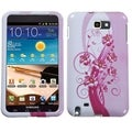 BasAcc Blooming Lily Protector Case for Samsung Galaxy Note