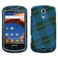BasAcc Blue Plaid Weave Protector Case for Samsung Epic 4G D700