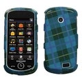 BasAcc Blue Plaid Weave Protector Case for Samsung Solstice II A817
