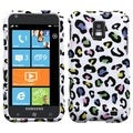 BasAcc Colorful Leopard Protector Case for Samsung Focus S I937