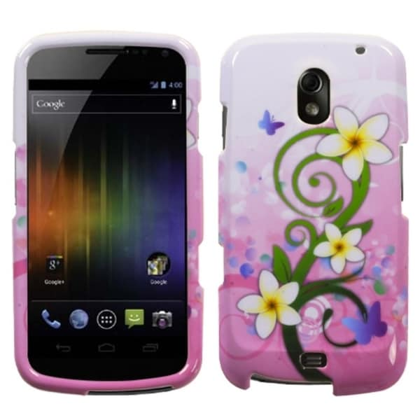 BasAcc Tropical Flowers Protector Case for Samsung Galaxy Nexus I515