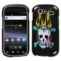 BasAcc Skull Fire Protector Case for Samsung Nexus S/ S 4G