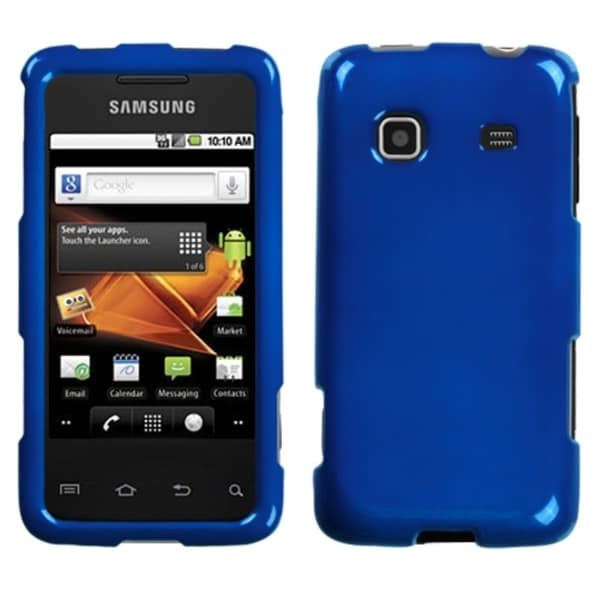 INSTEN Solid Dark Blue Phone Case Cover for Samsung Galaxy Prevail M820