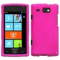 BasAcc Solid Shocking Pink Case for Samsung Focus Flash I677