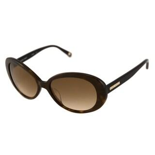 Nine West Women's NW505S Oval Tortoise Sunglasses