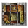 Michael Lang 'Solidarity' Metal Wall Art