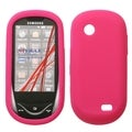 BasAcc Solid Hot Pink Skin Case for Samsung Sunburst A697
