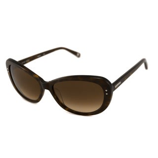 Nine West Women's NW507S Tortoise Shell Cat-Eye Sunglasses