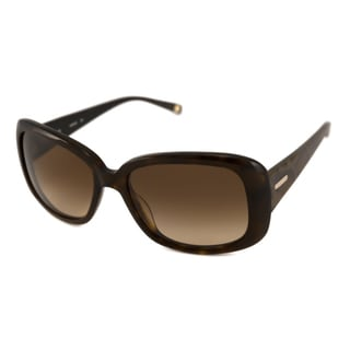 Nine West Women's NW510S Rectangular Tortoise/Brown Sunglasses