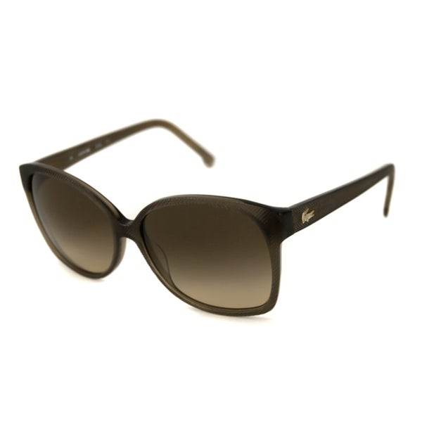 Lacoste Women's L614S Rectangular Sunglasses