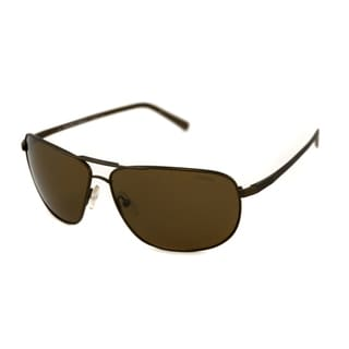 Calvin Klein Men's CK7425SP Polarized/ Aviator Sunglasses