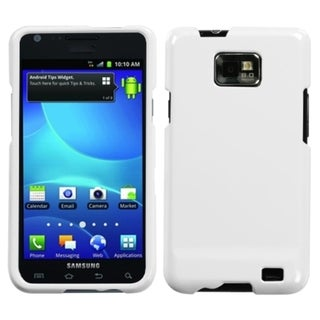 INSTEN Natural Ivory White Protector Phone Case Cover for Samsung Galaxy S2 I777