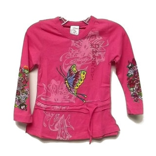 Ed Hardy Baby Girls Tunic
