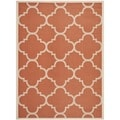 Safavieh Indoor/ Outdoor Courtyard Terracotta Rug (6'7 x 9'6)