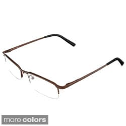 Hot Optix Unisex Semi Rimless Metal Reading Glass