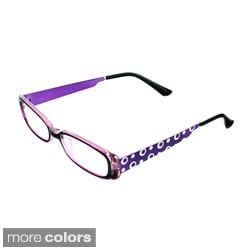 Hot Optix Women's Decorative Metal Temples Reading Glasses