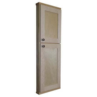 Andrew Series 42 Inch Double Door Shallow Wall Cabinet 16241214 Shopping Big