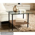 Modern Glass Side Table by Jesper Office