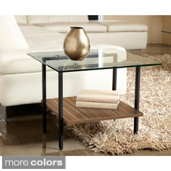 Modern Glass Side Table