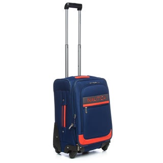 Nautica Rhumb Collection 20-inch Small Carry-on Expandable Spinner Upright Suitcase