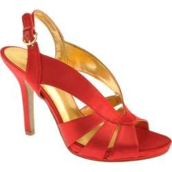 Women's Nine West Loela Red Satin
