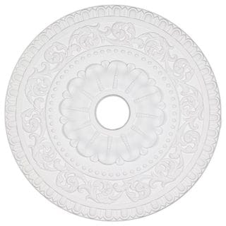 23.6-inch Beaded Egg/ Dart Ceiling Medallion