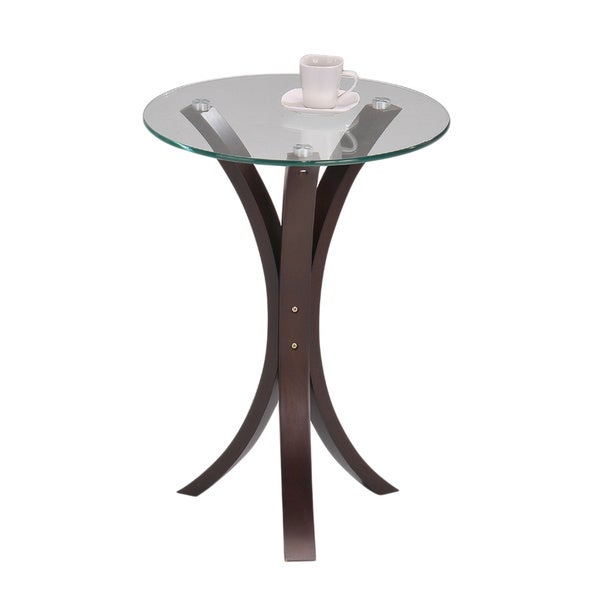 Round Glass Walnut Finish Chair Side End Table 15519113  : Round Glass Walnut Finish Chair Side End Table 85d730d9 9851 4c23 bad3 d05d97985835600 from www.overstock.com size 600 x 600 jpeg 13kB