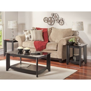 Bush Furniture Aero Coffee/ End Table Set