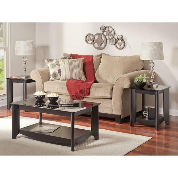 Bush Furniture Aero Coffee/ End Table Set