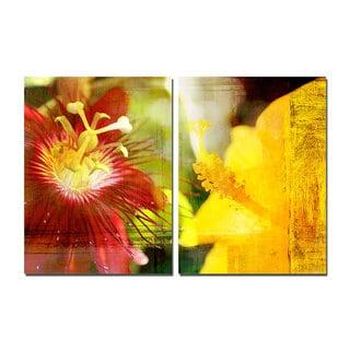 Ready2HangArt 'Tropical Hibiscus' Canvas Wall Art 2-piece Set