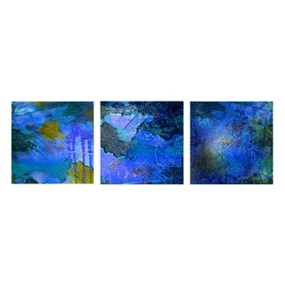 'Alexis Bueno 'Abstract' Canvas Wall Art 3-piece Set