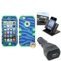 BasAcc Car Charger/ Dashboard Holder/ TUFF Case for Apple iPhone 5