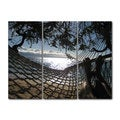 Chris Doherty 'Hammock' Acrylic Art 3-piece Set