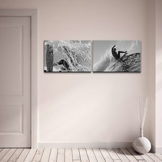 Nicola Lugo 'Surf Photography' Canvas Art 2-piece Set