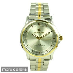 Pierre Jill Women's 'Simply Elegant' Stainless Steel Watch