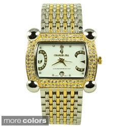 Charlie Jill Women's Rhinestone-accented Watch